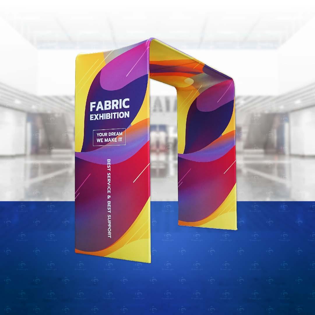 Fabric-backdrop/ แบคดรอปผ้า ซุ้มประตู FB-10J